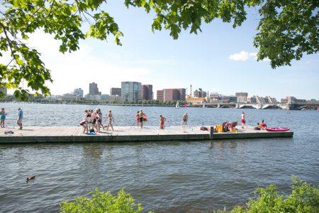Charles River Conservancy City Splash Swim