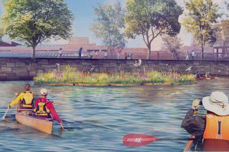 Charles River Conservancy Floating Wetland Header Image
